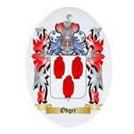 Odger Oval Ornament