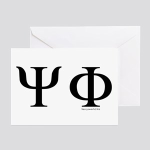 Psi Phi Greeting Cards (Pk of 20)