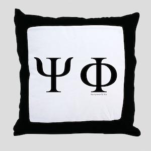 Psi Phi Throw Pillow