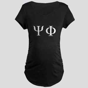 Psi Phi Maternity Dark T-Shirt