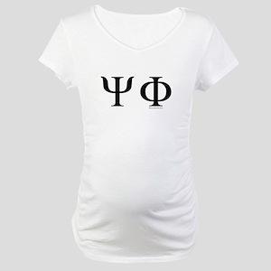 Psi Phi Maternity T-Shirt