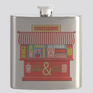 Movie Theater Concessions Stand Flask