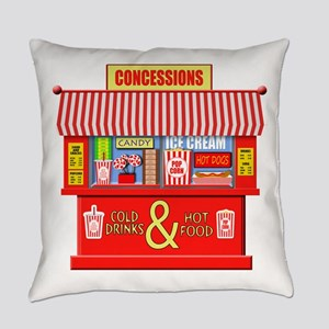 Movie Theater Concessions Stand Everyday Pillow