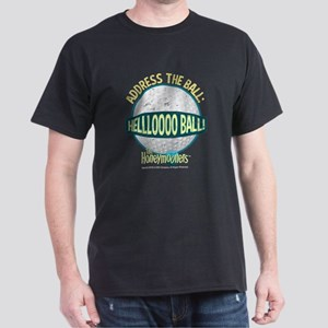 The Honeymooners: Helllooo Ball Dark T-Shirt