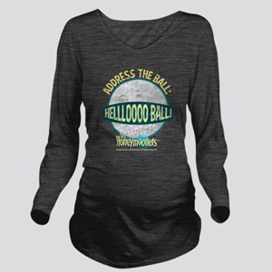 The Honeymooners: He Long Sleeve Maternity T-Shirt