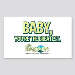 The Honeymooners: Baby, You're Sticker (Rectangle)