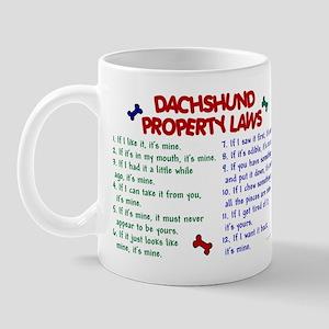 Dachshund Property Laws 2 Mug