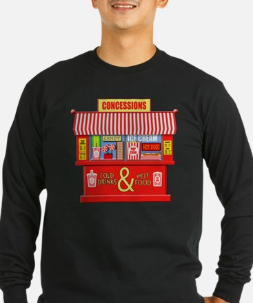 Movie Theater Concessions Stan Long Sleeve T-Shirt