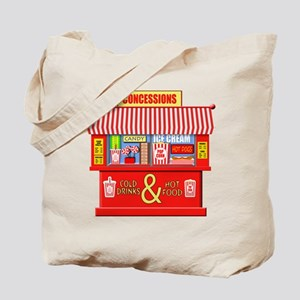 Movie Theater Concessions Stand Tote Bag