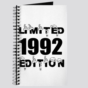 Limited 1992 Edition Birthday Designs Journal