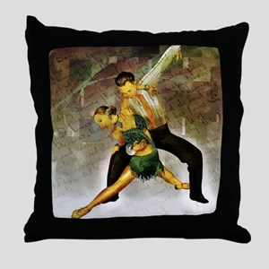 Professional dancers Throw Pillow