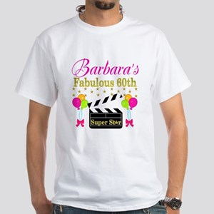 STYLISH 60TH White T-Shirt