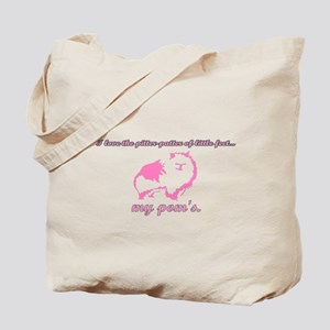 Pom Pitter Patter Tote Bag