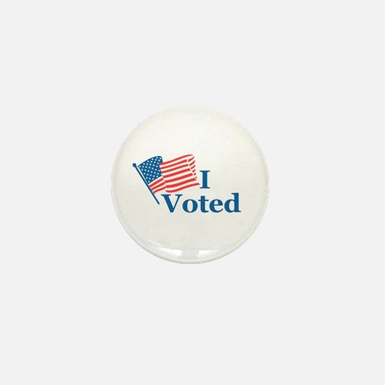 I Voted Mini Button