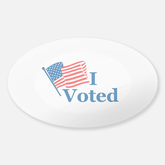 I Voted Decal