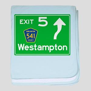 NJTP Logo-free Exit 5 Westampton baby blanket