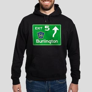 NJTP Logo-free Exit 5 Burlington Hoodie (dark)