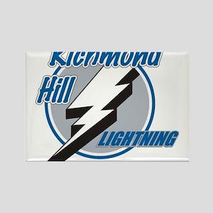 Richmond Hill Lightning Rectangle Magnet