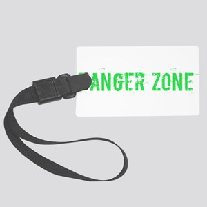 Danger Zone Large Luggage Tag