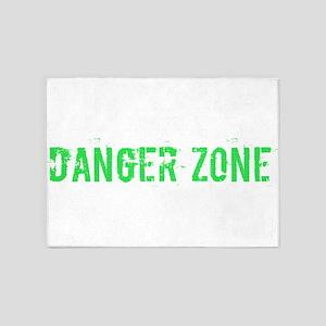 Danger Zone 5'x7'Area Rug