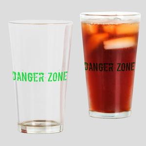 Danger Zone Drinking Glass