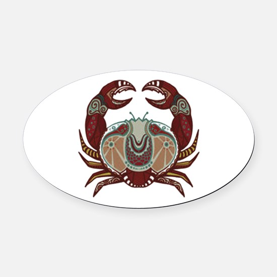 CLAWS Oval Car Magnet