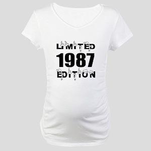 Limited 1987 Edition Birthday De Maternity T-Shirt