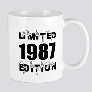 Limited 1987 Edition Birthday De 11 oz Ceramic Mug
