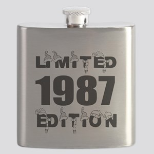 Limited 1987 Edition Birthday Designs Flask