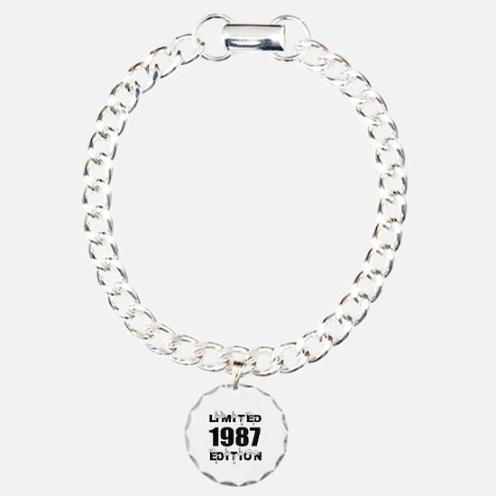 Limited 1987 Edition Bir Charm Bracelet, One Charm
