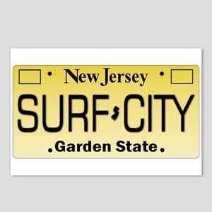 Surf City NJ Tag Giftware Postcards (Package of 8)