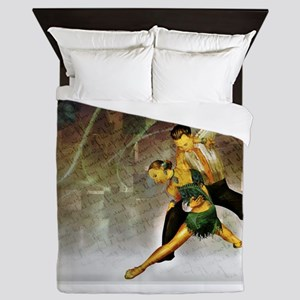 Professional dancers Queen Duvet