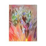 Irises watercolor Twin Duvet