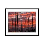 Framed Life in the Sticks Print