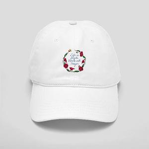 Flower Wreath QUOTE Handle with Prayer Cap