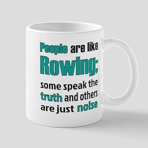 People are like Rowing 11 oz Ceramic Mug