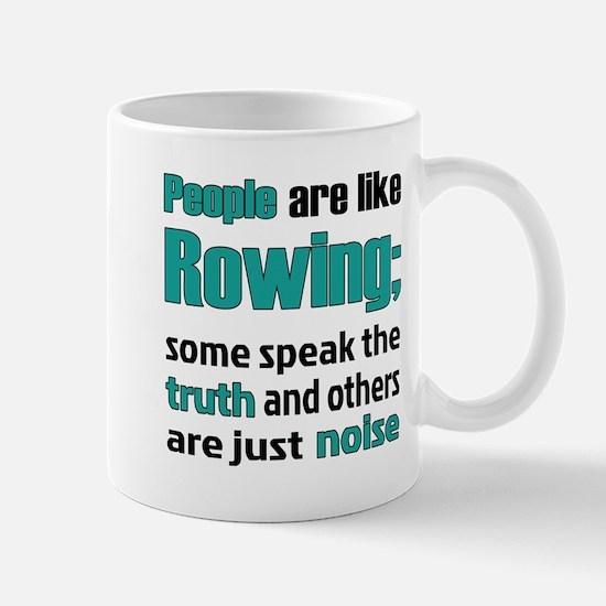 People are like Rowing Mug