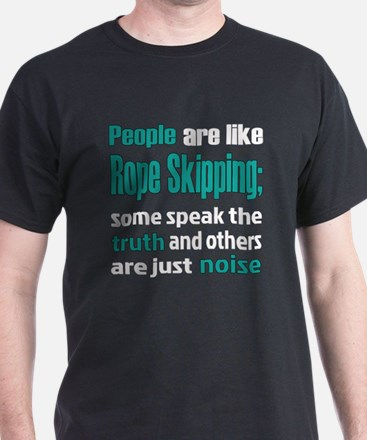 People are like Rope Skipping T-Shirt