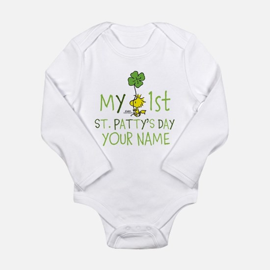 Peanuts - My 1st St. P Long Sleeve Infant Bodysuit