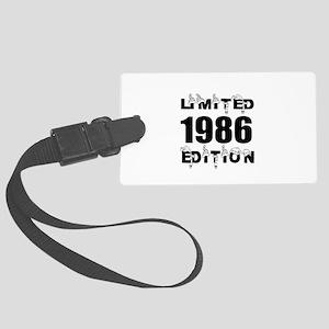 Limited 1986 Edition Birthday De Large Luggage Tag