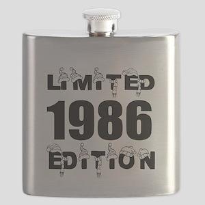 Limited 1986 Edition Birthday Designs Flask