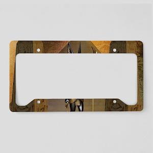 Anubis the egyptian god License Plate Holder