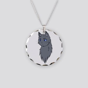 Warriors: Bluestar Necklace Circle Charm