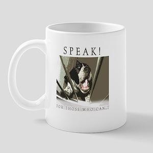 Speak! Regular Mug