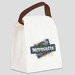 Marquette Design Canvas Lunch Bag