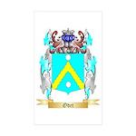 Odet Sticker (Rectangle 50 pk)