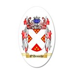 O'Dennehy 35x21 Oval Wall Decal
