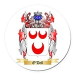 O'Dell Round Car Magnet