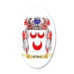 O'Dell 20x12 Oval Wall Decal