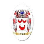 O'Dell 35x21 Oval Wall Decal